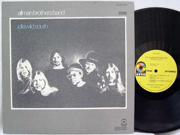 ALLMAN BROTHERS BAND - Idlewild South Single