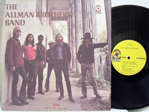 ALLMAN BROTHERS BAND - The Allman Brothers Band Record