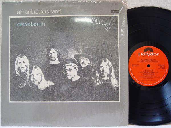 ALLMAN BROTHERS BAND - Idlewild South Record