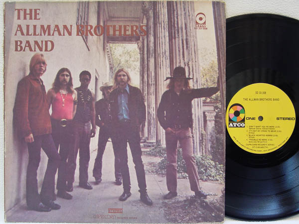 ALLMAN BROTHERS BAND - The Allman Brothers Band LP