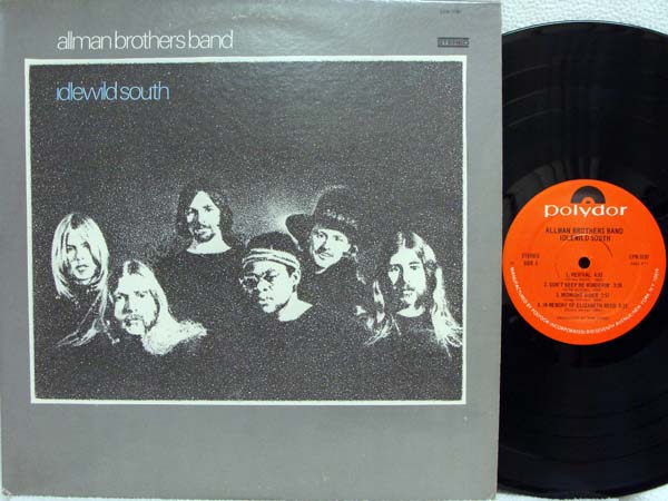 ALLMAN BROTHERS BAND - Idlewild South EP