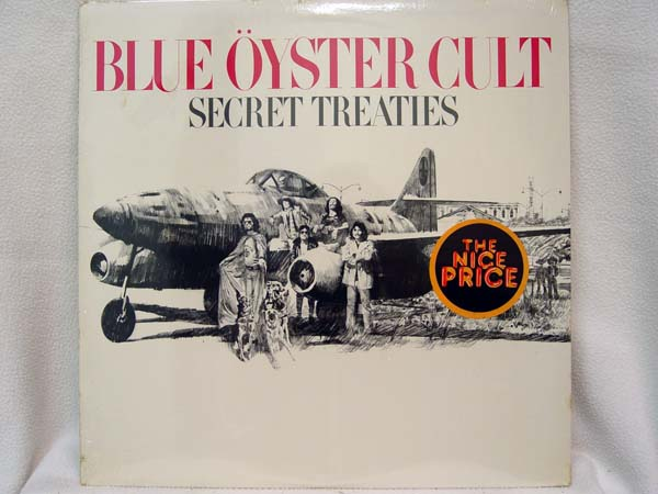 BLUE OYSTER CULT - Secret Treaties EP
