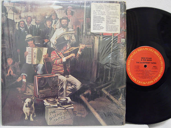 The Basement Tapes By Bob Dylan, LP With Tosca-records