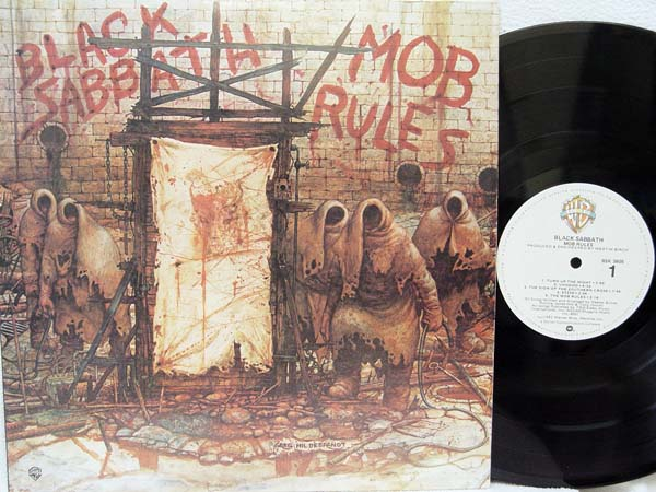 BLACK SABBATH - Mob Rules Record