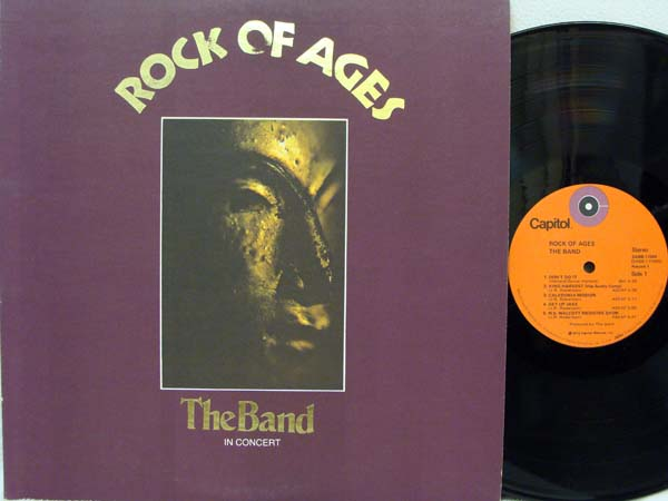 BAND - Rock Of Ages Record