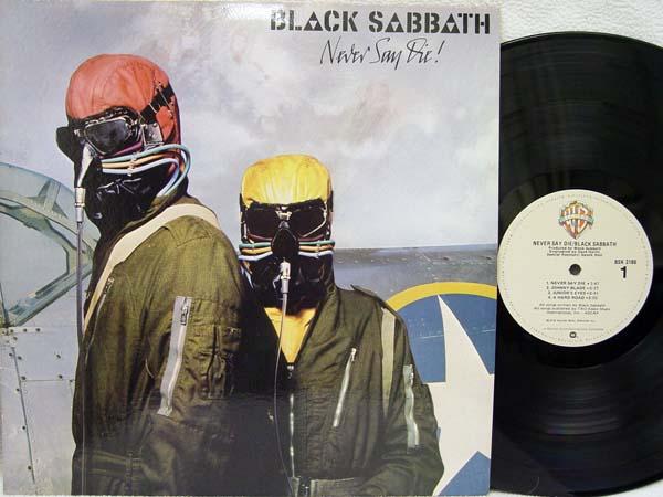 Black Sabbath - Never Say Die Vinyl