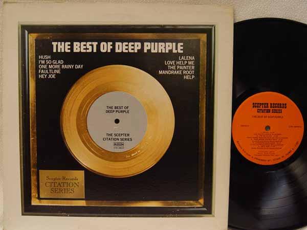 Deep Purple - The Best Of Deep Purple (the Scepter Citation Series)