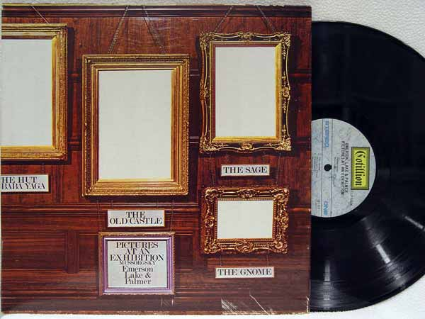 EMERSON LAKE PALMER - Pictures at an Exhibition - LP
