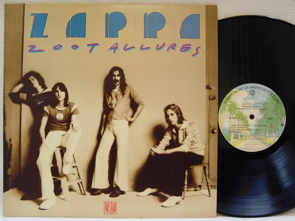FRANK ZAPPA - Zoot Allures - LP