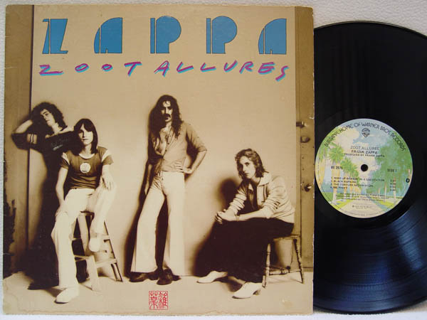 Frank Zappa Zoot Allures Records Lps Vinyl And Cds