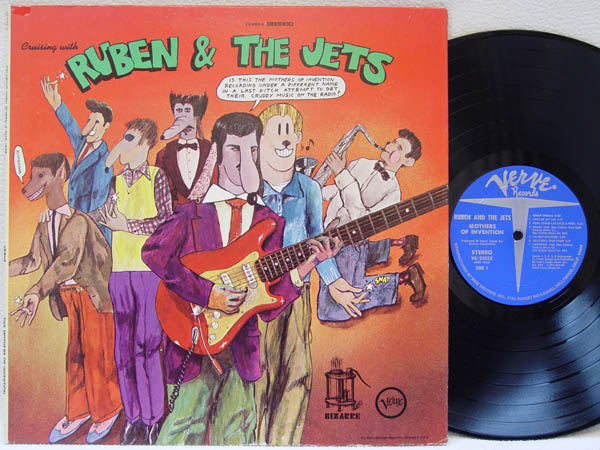 FRANK ZAPPA & THE MOTHERS OF INVENTION - Cruising with Ruben & The Jets - LP
