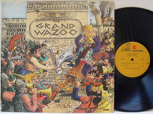 FRANK ZAPPA & THE MOTHERS OF INVENTION - The Grand Wazoo - LP