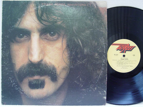 Frank Zappa Apostrophe Vinyl Records Lp Cd On Cdandlp