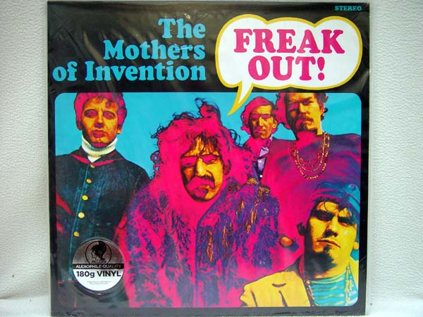 FRANK ZAPPA & THE MOTHERS OF INVENTION - Freak Out! - LP