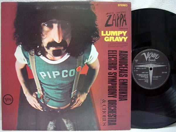 FRANK ZAPPA - Lumpy Gravy - LP