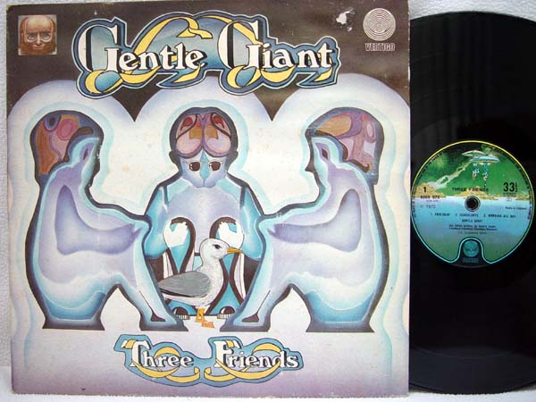 GENTLE GIANT - Three Friends - LP