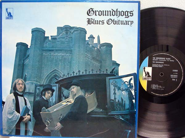 GROUNDHOGS - Blues Obituary EP