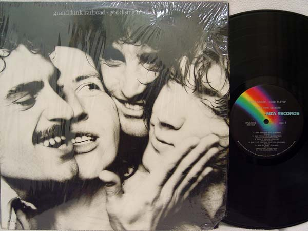 GRAND FUNK - Good Singin' Good Playin' Record
