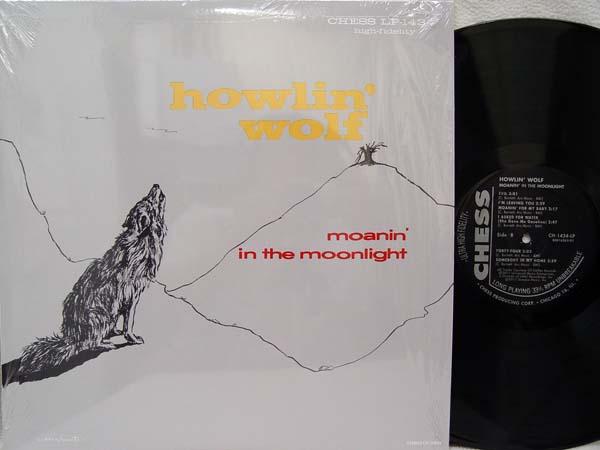 HOWLIN' WOLF - Moanin' in the Moon - 33T