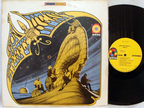 IRON BUTTERFLY - Heavy - LP