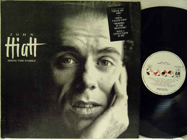 John Hiatt Bring The Family Records, Vinyl and CDs - Hard ...