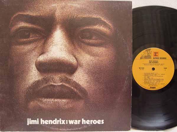 Jimi Hendrix - War Heroes Record