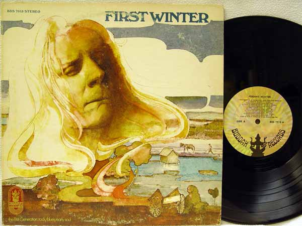 JOHNNY WINTER - First Winter LP
