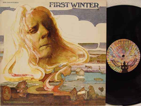 JOHNNY WINTER - First Winter CD
