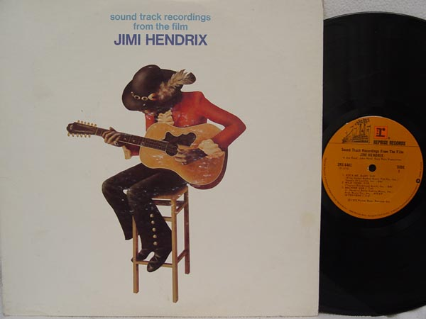 JIMI HENDRIX - Sound Track Recordings From The Film Jimi Hendrix LP