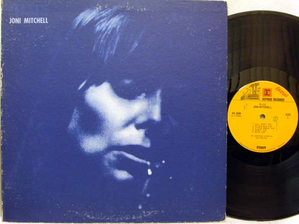 JONI MITCHELL - Blue - LP