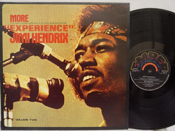 Jimi Hendrix More Experience Records Lps Vinyl And Cds