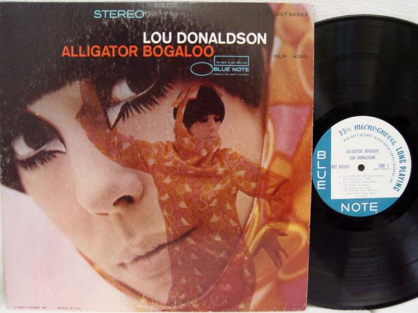 LOU DONALDSON - Alligator Bogaloo - LP