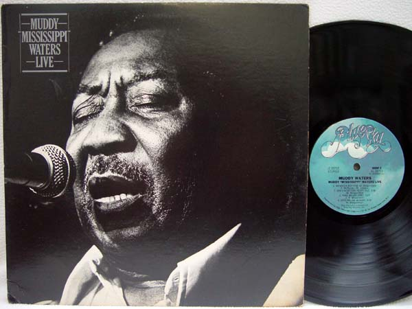 MUDDY WATERS - Muddy ''Mississippi'' Waters Live - LP