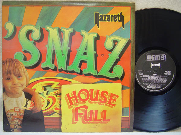 NAZARETH - Snaz Album