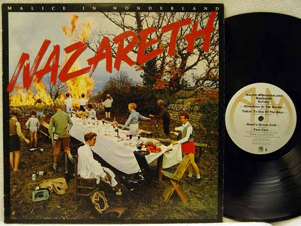 Nazareth Malice In Wonderland Records Lps Vinyl And Cds