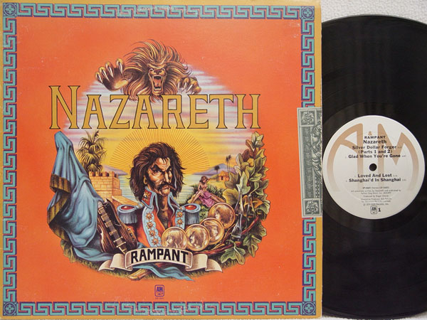 Nazareth Rampant Records Vinyl And Cds Hard To Find And
