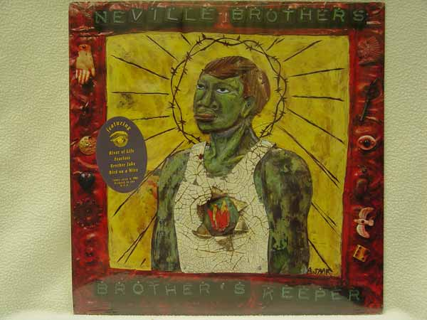Neville Brothers Brother S Keeper Records Lps Vinyl And