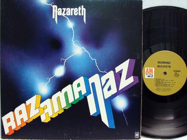 Nazareth Razamanaz Records Lps Vinyl And Cds Musicstack