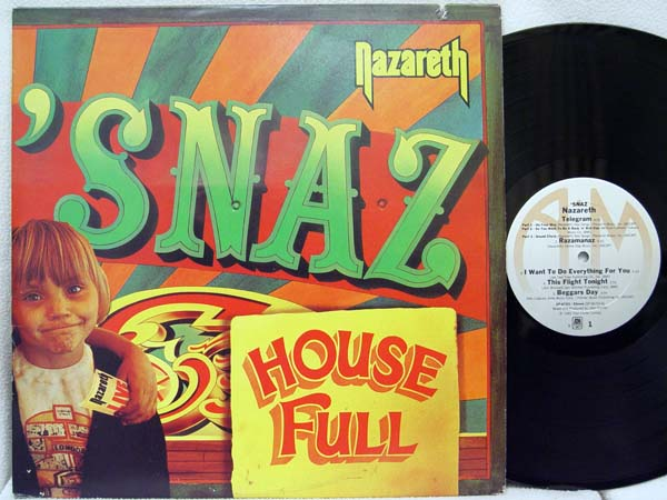 Nazareth Snaz Records Lps Vinyl And Cds Musicstack