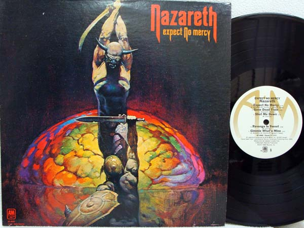 Nazareth Expect No Mercy Records Lps Vinyl And Cds
