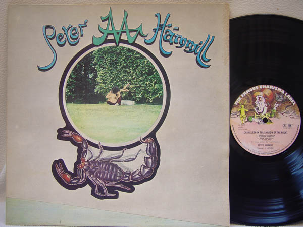 PETER HAMMILL - Chameleon in the Shadow of the Night - 33T