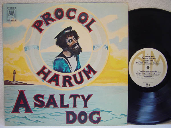 PROCOL HARUM - A Salty Dog - 33T