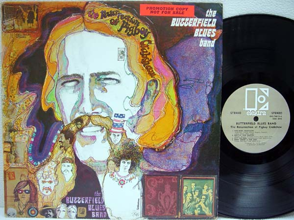 PAUL BUTTERFIELD BLUES BAND, THE - The Resurrection of Pigboy Crabshaw - 33T