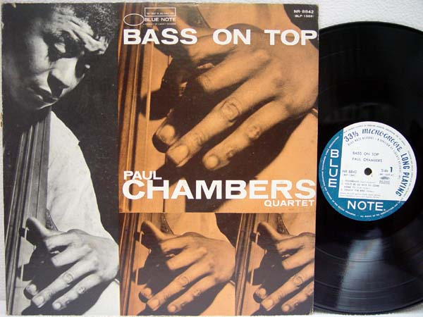 PAUL CHAMBERS - Bass On Top - 33T