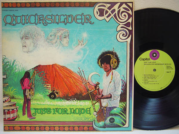 QUICKSILVER MESSENGER SERVICE - Just for Love - 33T