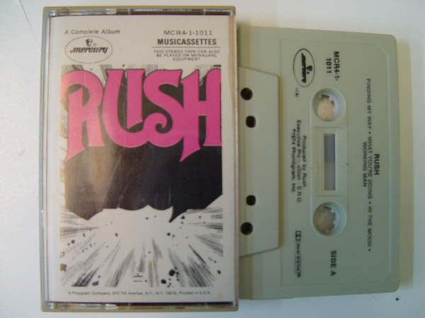 RUSH - Rush - Tape