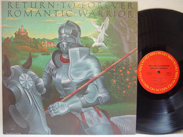 RETURN TO FOREVER - Romantic Warrior - 33T