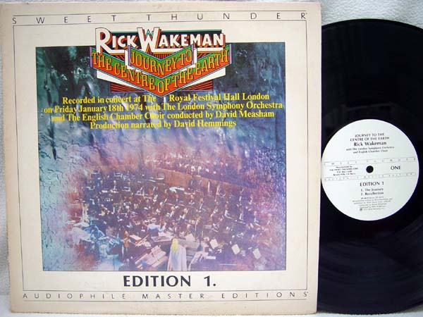 RICK WAKEMAN - Journey to the Center of the Earth - 33T
