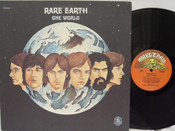 RARE EARTH - One World LP
