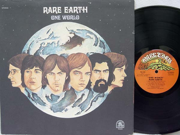RARE EARTH - One World CD
